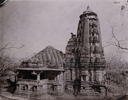General view of the great temple at Mynal